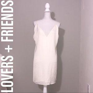 LOVERS + FRIENDS Tallulah Silk Mini Dress